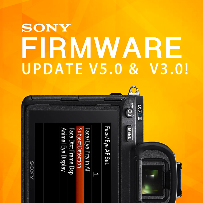Sony's Firmware Updates for the a9, a7III, & a7RIII! (v5.0 & v3.0)