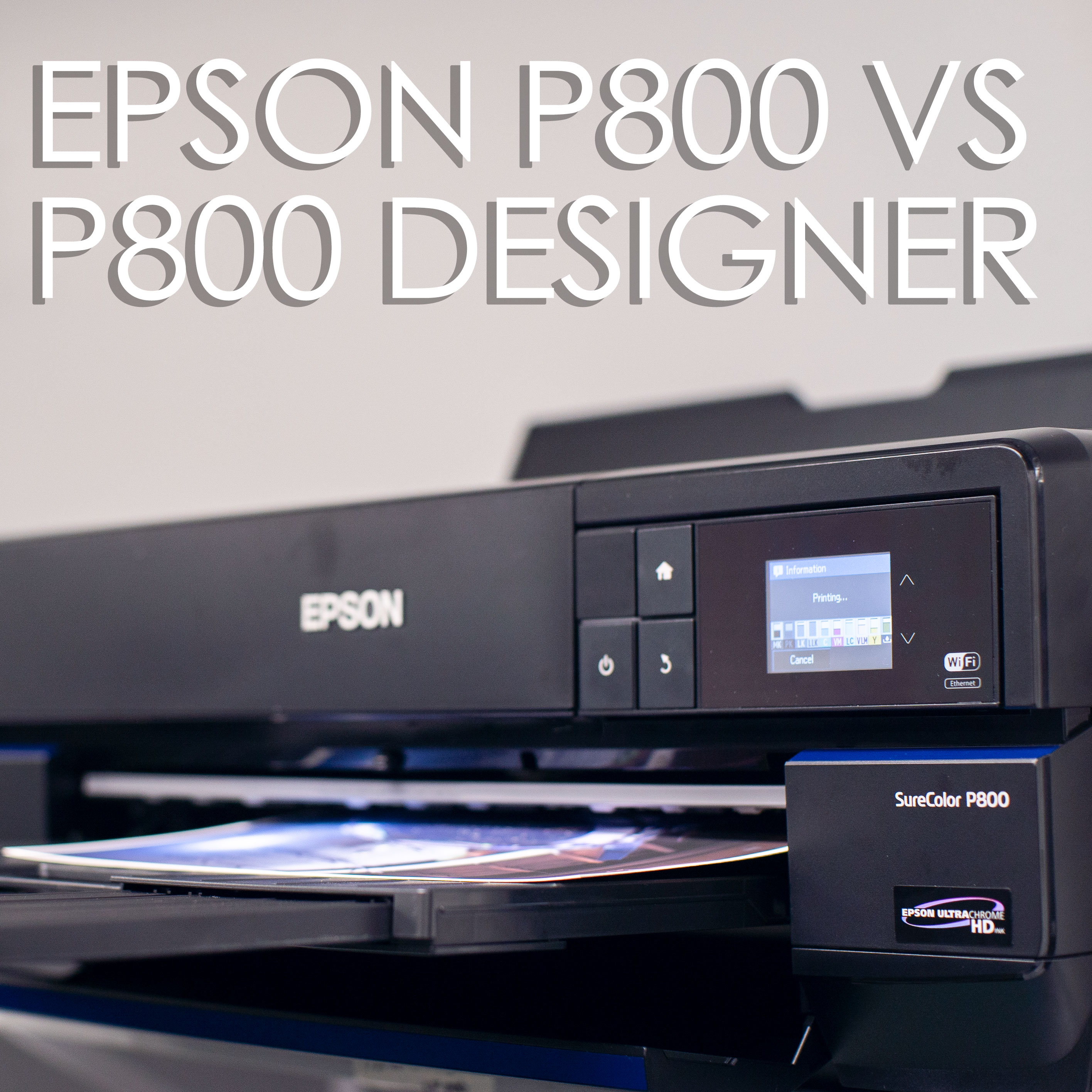 P800 vs P800 Designer Edition