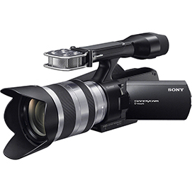 Sony NEX VG-10 Review with Sample Footage