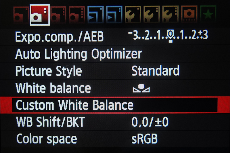 quick tip how to set custom white balance on a canon dslr in photo rh uniquephoto com manual white balance canon 600d best white balance setting canon