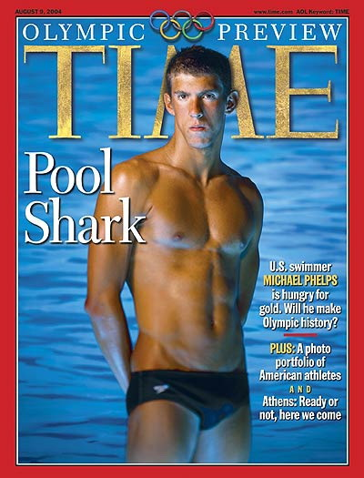 Behind the Scenes: The Michael Phelps Time Cover