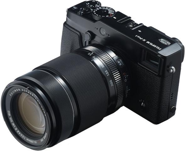 Fujifilm Announces XF55-200mm Telephoto, 2013 XF Lens Roadmap in