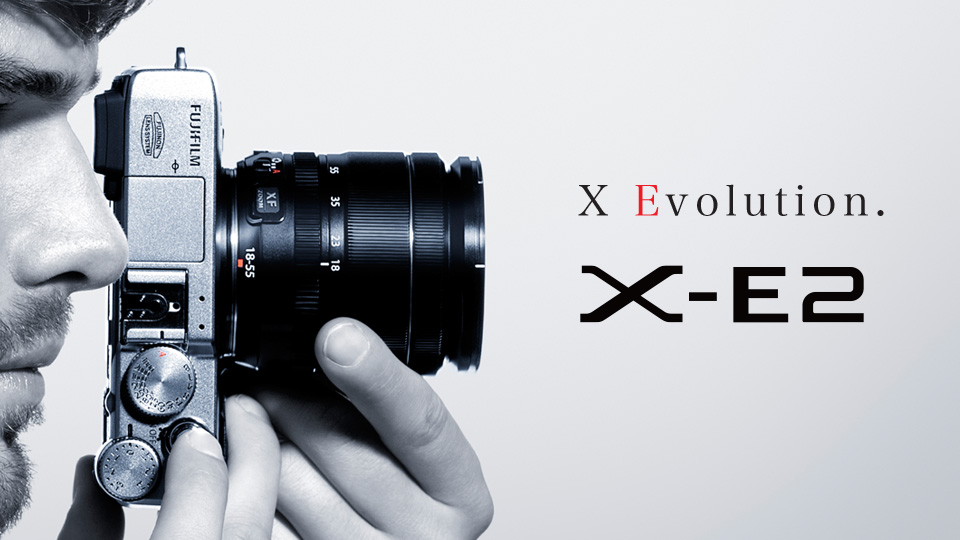 Fujifilm announces the new FUJIFILM X-E2 interchangeable lens camera