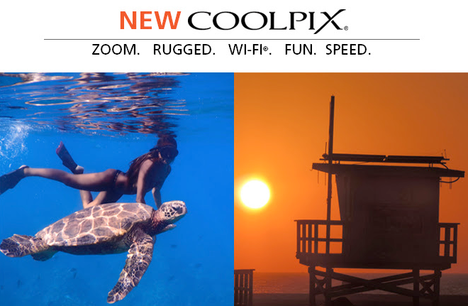 6 new Coolpix cameras from Nikon