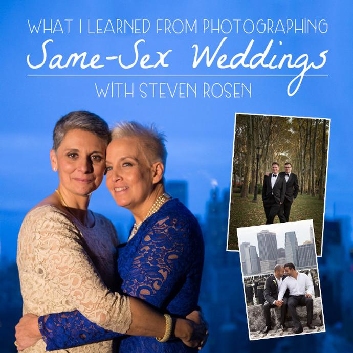 The dreaded two headed tuxedo and other observations: A session on same-sex wedding photography