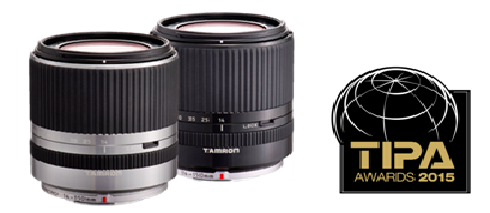 TAMRON 14-150MM DI III (MODEL C001) NAMED BEST CSC ENTRY LEVEL LENS AT THE TIPA AWARDS 2015