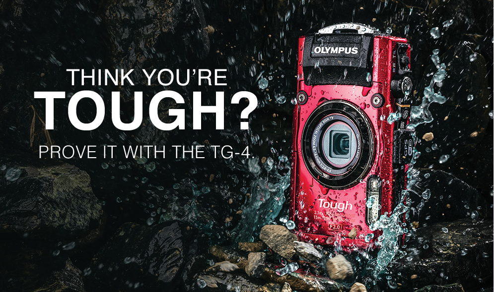 Olympus TG-4: For an Off Road Rugged Experience!