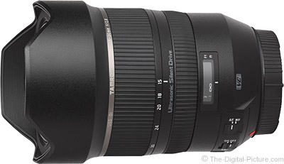 Tamron's ultra-wide lens: SP 15-30mm F2.8 Di VC USD
