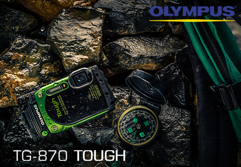 Shoot Tough - New TG-870 from Olympus