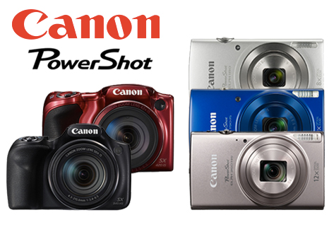 Five New Canon Powershot Cameras