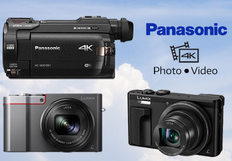 Get Beautiful 4K with Panasonic's New Cameras