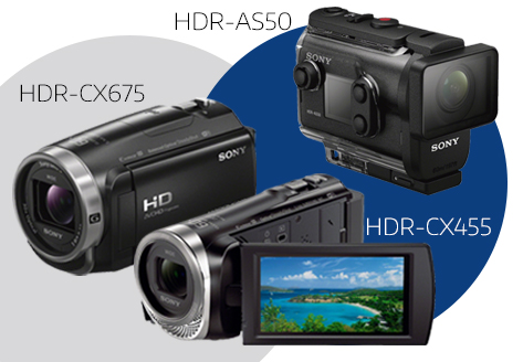 New Handycams and Action Cams from Sony