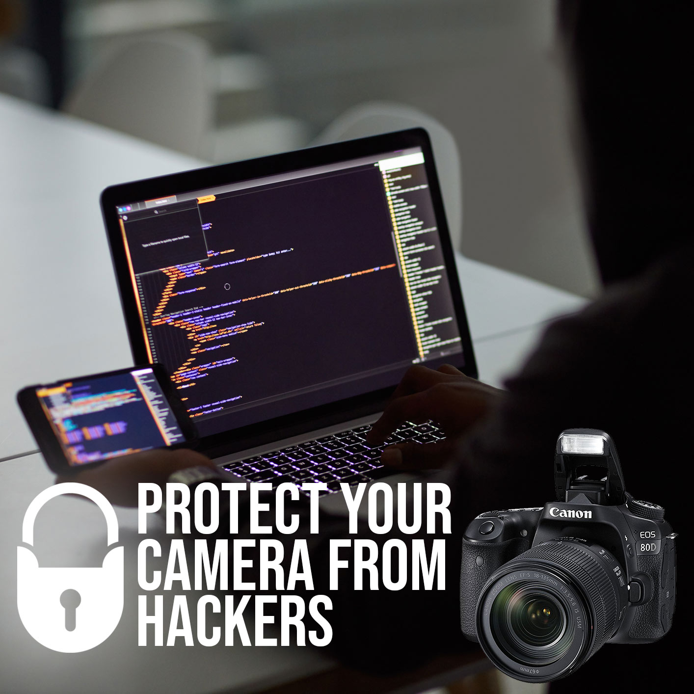 Hacking Vulnerability on Wifi Enabled Canon Cameras
