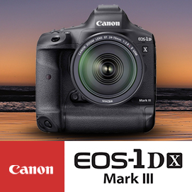 New Canon EOS-1DX Mark III Announced