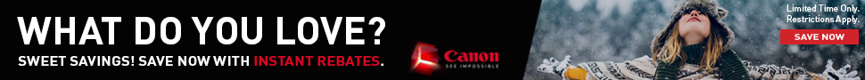 Check out our Canon Deals