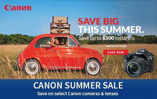 Canon Summer Deals