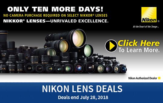 Nikon Lens Deals