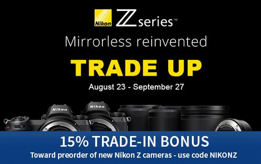 Nikon Z Trade Up