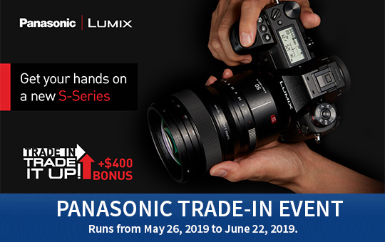 Panasonic Trade in event
