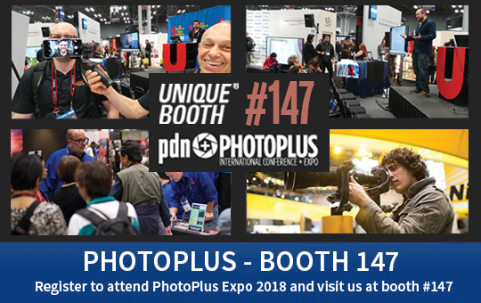 Unique Photo Booth 147 at Photoplus 2018