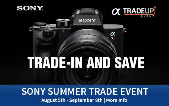 Sony Summer Trade Event