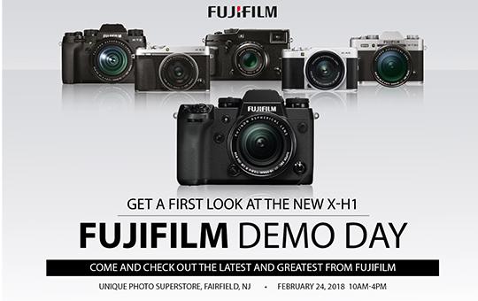 Fujifilm X-H1 Demo Day