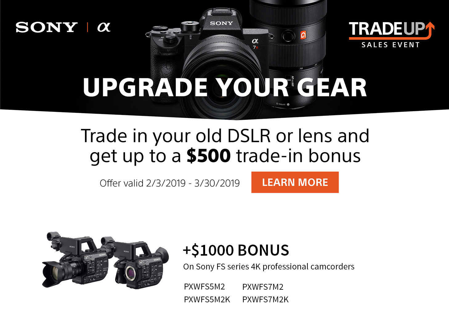 Sony trade in event