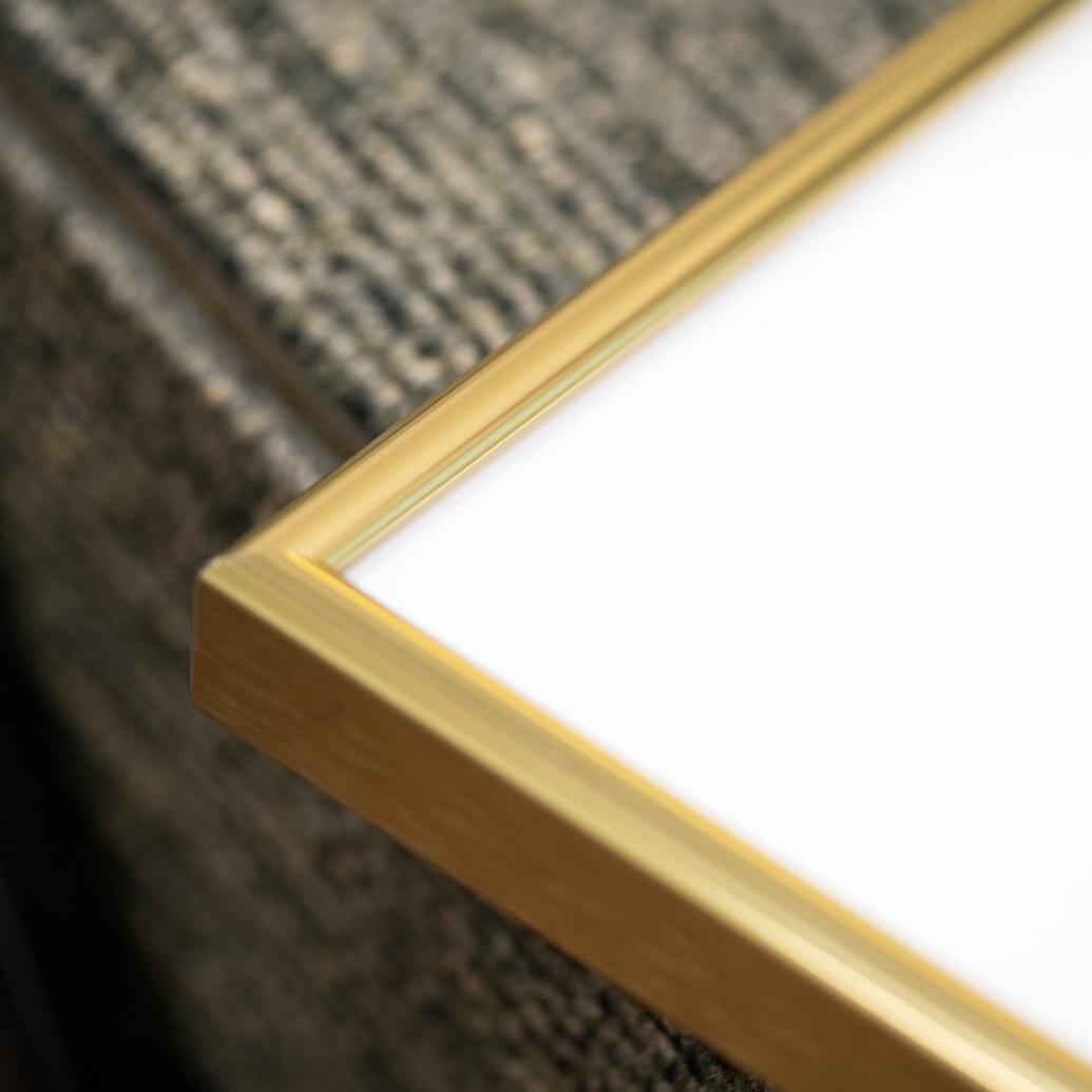 Gold Metal Frames