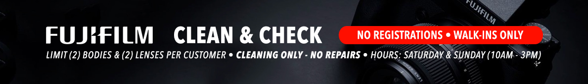Fuji Clean & Check
