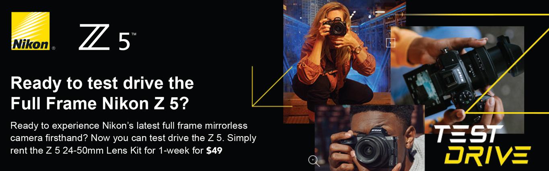 Nikon Z5 rental special