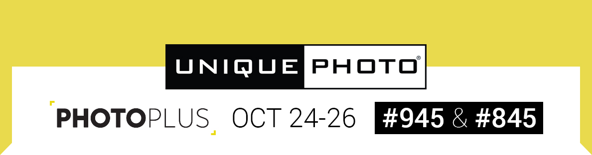 Unique Photo Booths #945 & #845 at PhotoPlus Expo 2019