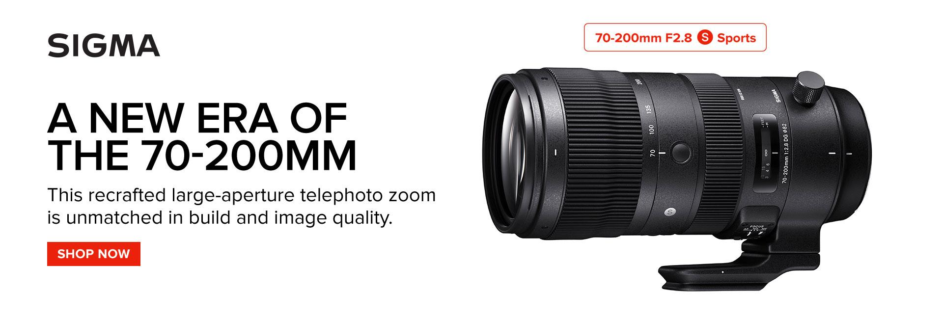 sigma 70-200mm lens