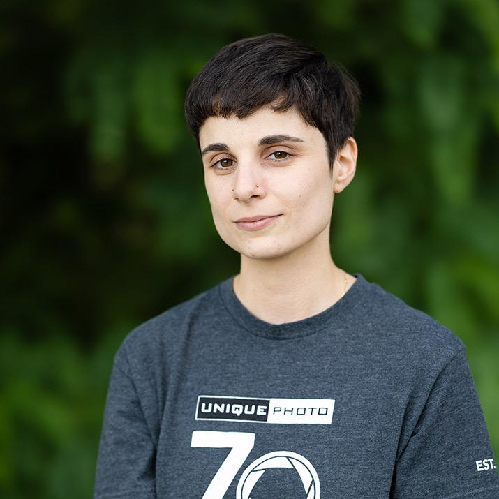 Ali Di Luccia - Lab Manager