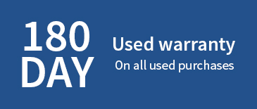 180 Day Warranty