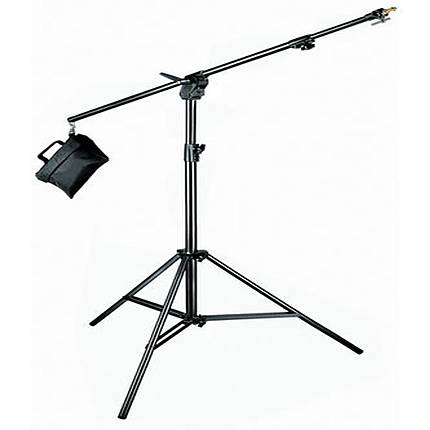 Manfrotto 420B Combi Boom Stand with Sandbag - Black
