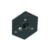 Manfrotto by Bogen Imaging 130-14 Hexagonal Quick Release Plate