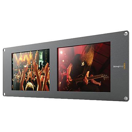 Blackmagic Design SmartView Duo Rackmountable Dual 8 LCD Monitors