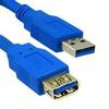 USB 3.0 Type A Male / Type B Male Cable 3 ft