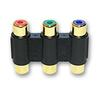 RCA Component Cable Coupler (RGB) F/F