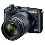 Canon EOS M6 Mirrorless Camera with 18-150mm f/3.5-6.3 IS STM Lens - Black