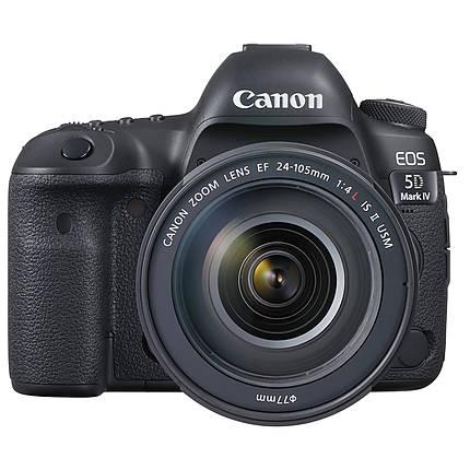 Canon EOS 5D Mark IV DSLR with 24-105mm IS USM Lens Kit