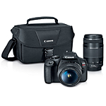 Canon EOS REBEL T7 EF18-55mm + EF 75-300mm Double Zoom KIT