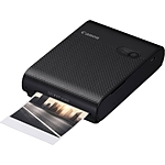 Canon SELPHY Square QX10 Compact Photo Printer (Black) with XS-20L