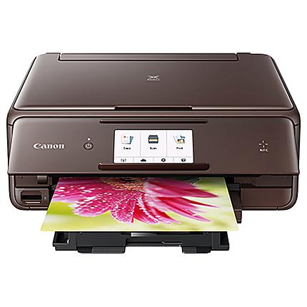 Canon PIXMA TS8020 Wireless Inkjet All-in-One Printer (Brown)