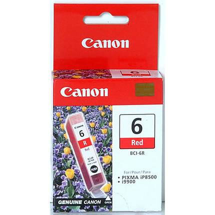 Canon BCI-6R Red Ink Cartridge for select ink jet printers