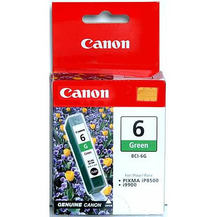 Canon BCI-6G Green Ink Cartridge for select ink jet printers
