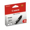 Canon CLI-251 XL High-Capacity Gray Ink Cartridge