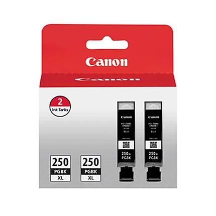 Canon PGI-250PGBK XL Black Twin Pack for Canon MG6620 MX922 MG5620 MG5420