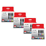 Canon CLI-251 BK/CMY 4 PK Value Pack Ink for Canon InkJet Printers-4 PK