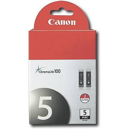 Canon PGI-5BK Twin Pack for Canon Pixma MP600, MP970 and iP3500 Printer